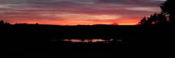 Sunset at Tyn Llain