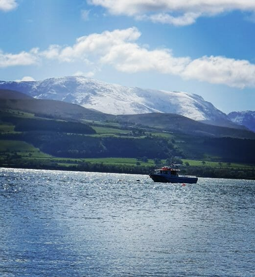 Snowdon from Beaumaris